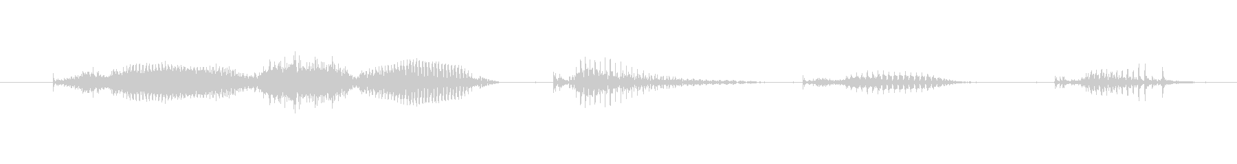 【日数・経過】9週間経過の未再生の波形