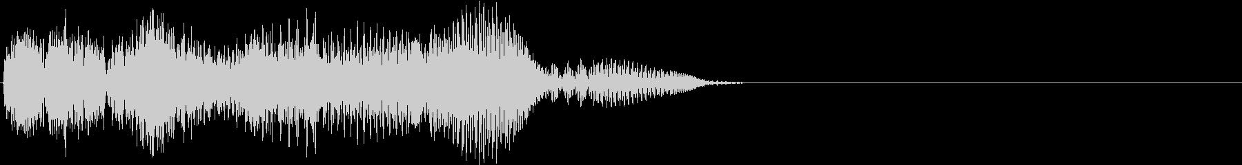 汎用UI_c決定の未再生の波形