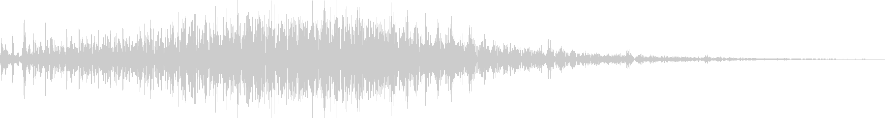 AMGアナログFX16の未再生の波形