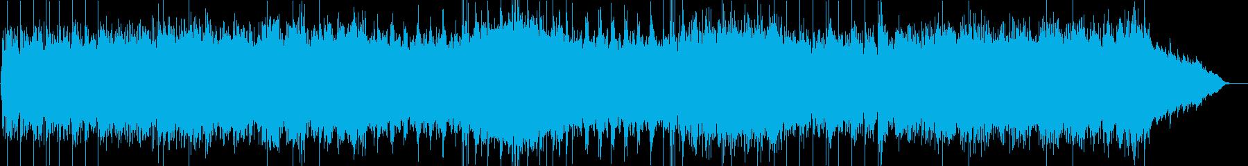力強追いビートが印象的なエレクトロニカの再生済みの波形