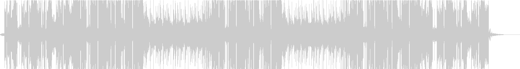 クールなローファイビートの未再生の波形