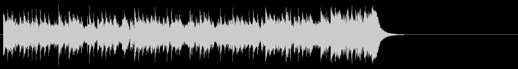 テーマパーク向けポップ(サビ)の未再生の波形