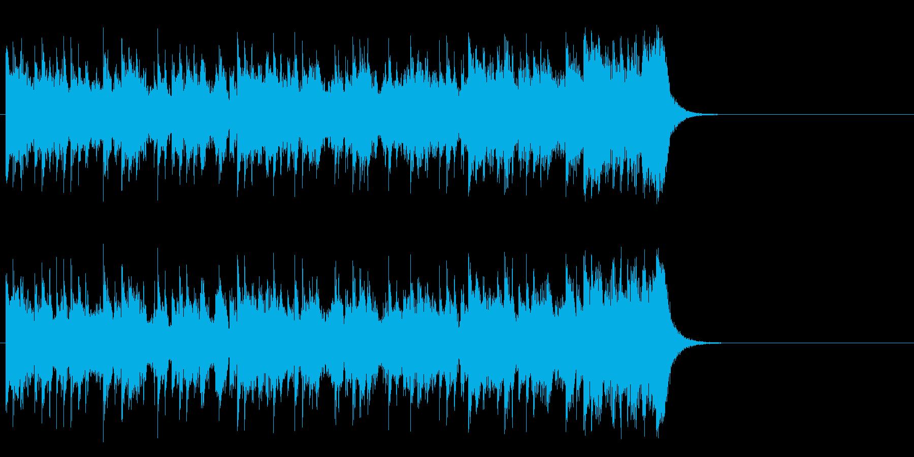 テーマパーク向けポップ(サビ)の再生済みの波形