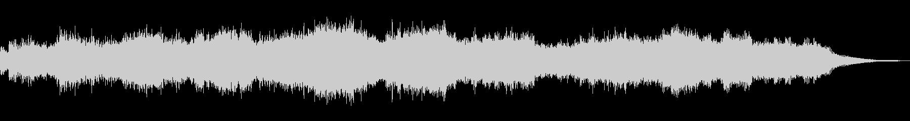 ウェーブテーブルシンセのパッド音の未再生の波形