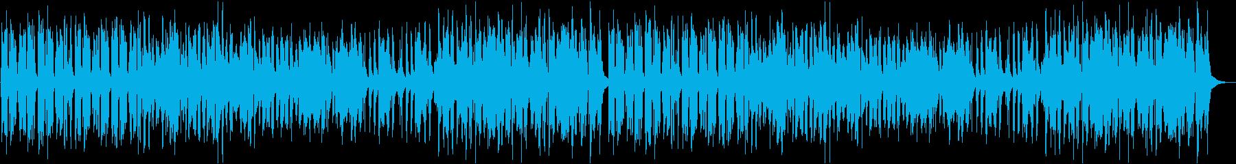 のんびり楽しい和風曲の再生済みの波形