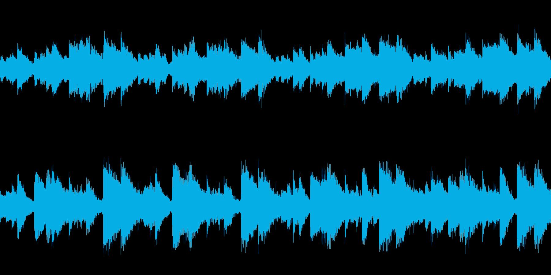 無気力で気だるい感じの曲/ループ可の再生済みの波形