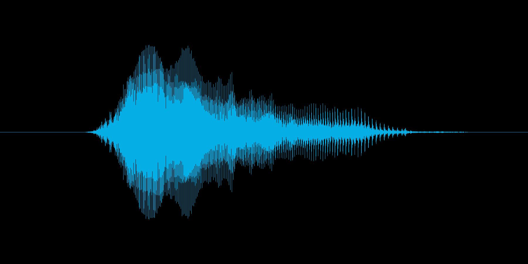 hey!(女性、掛け声)の再生済みの波形