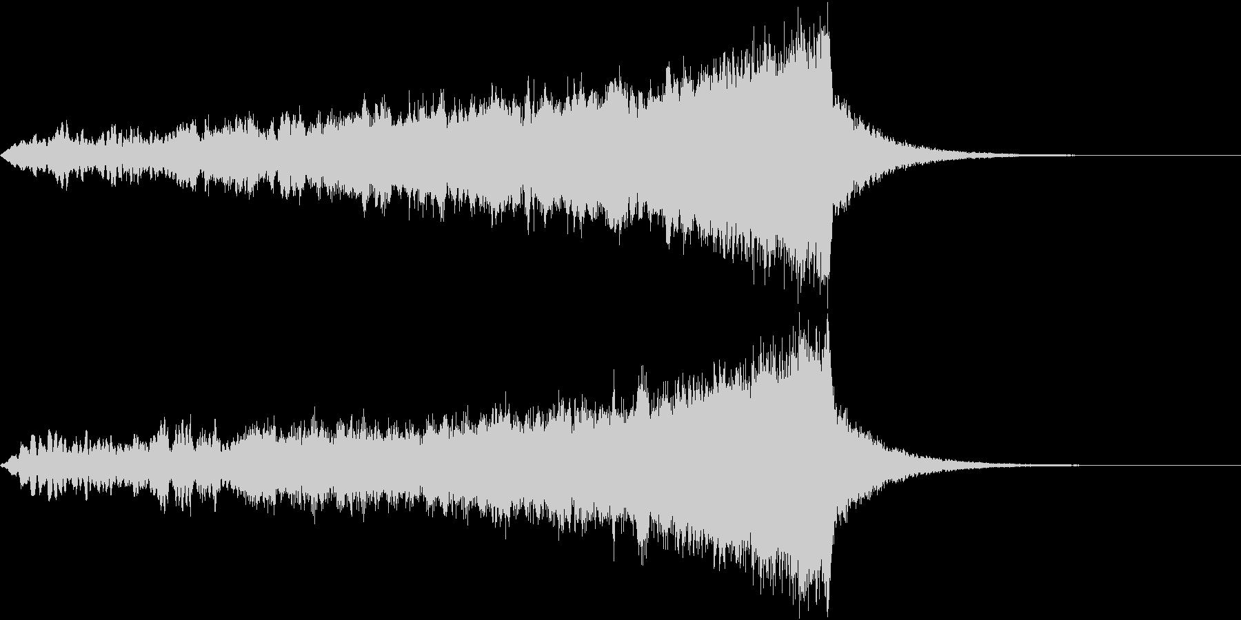CINEMATIC RISER_20の未再生の波形
