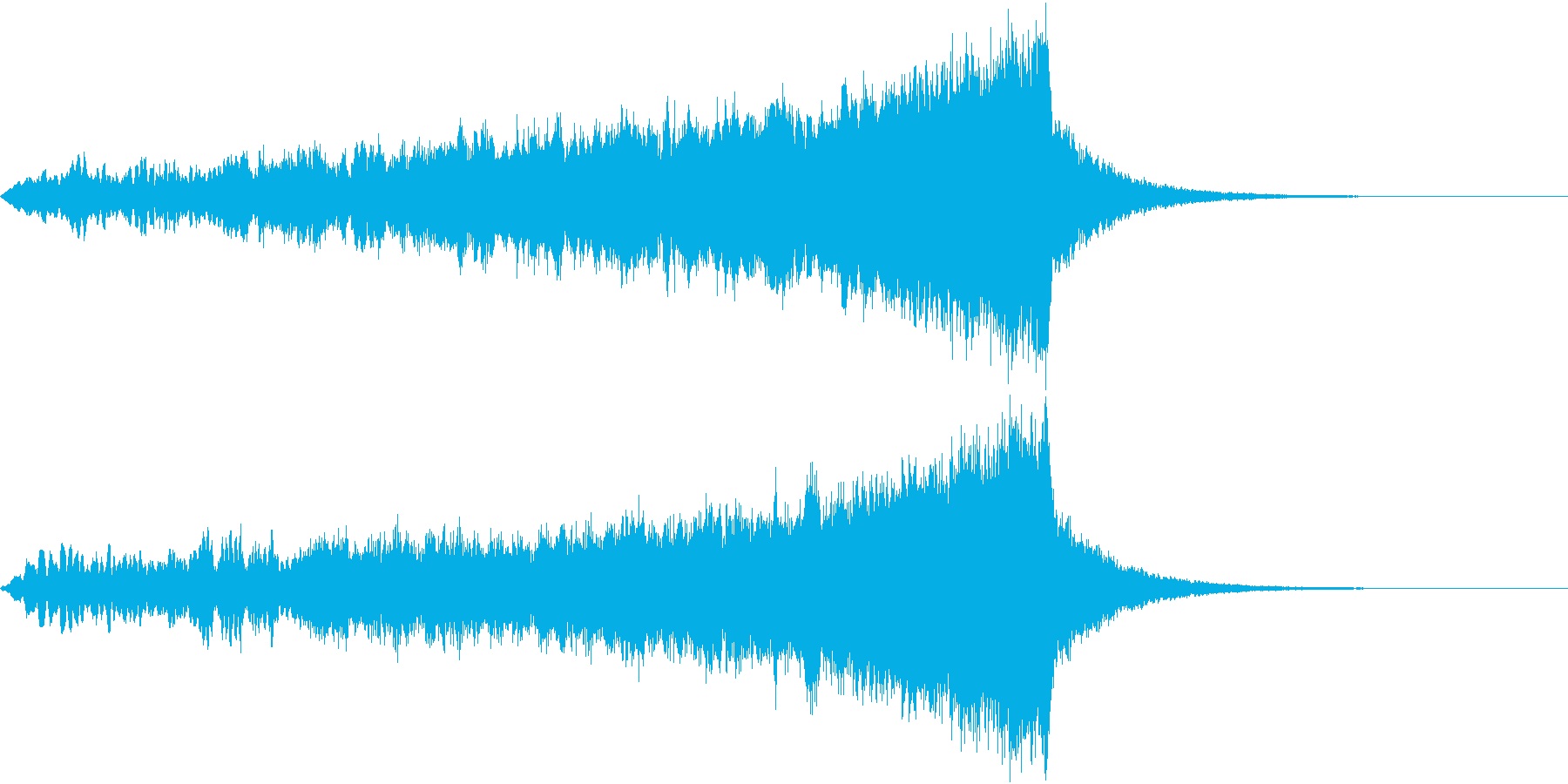 CINEMATIC RISER_20の再生済みの波形