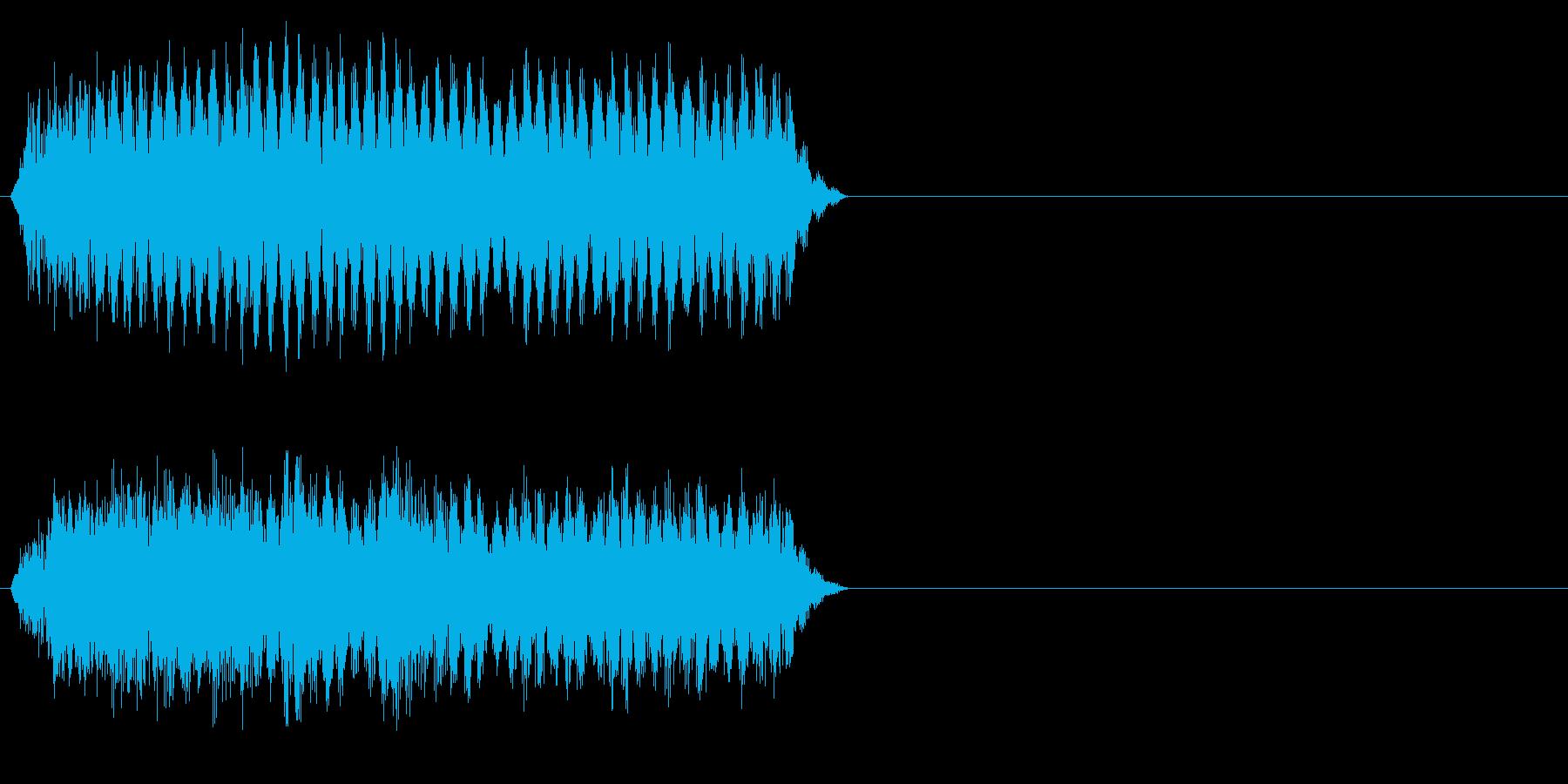 カートゥーン恐怖_少し怖い_ふわーの再生済みの波形
