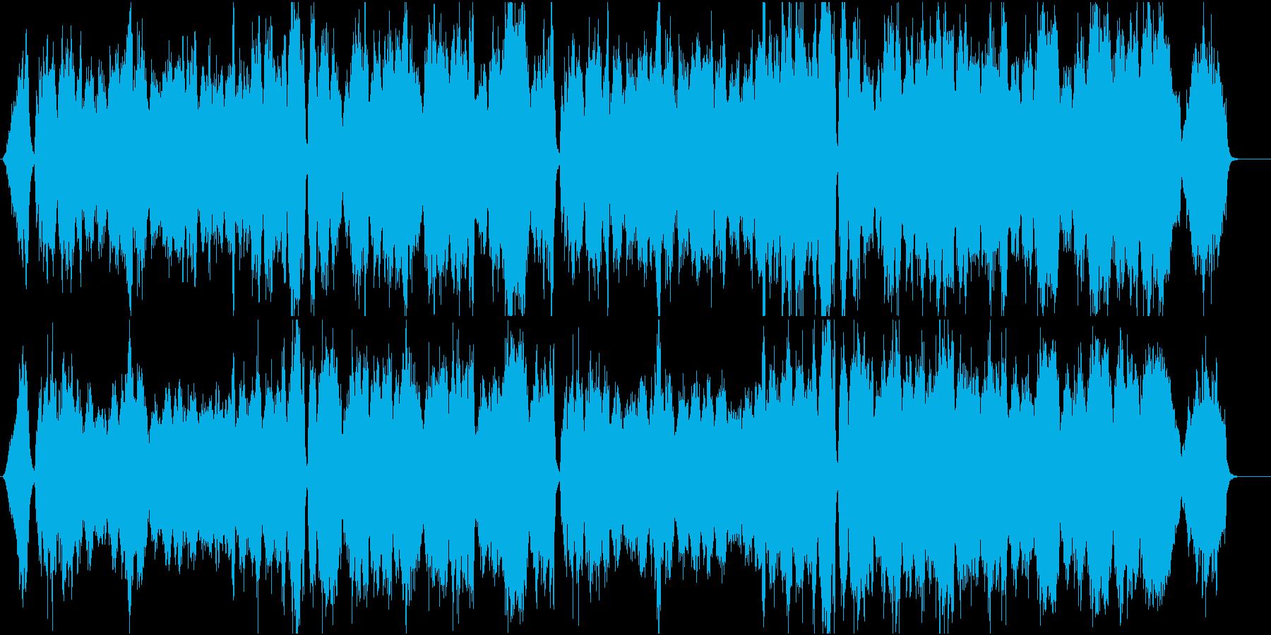 CM アニメ向け 心を癒すレクイエムの再生済みの波形