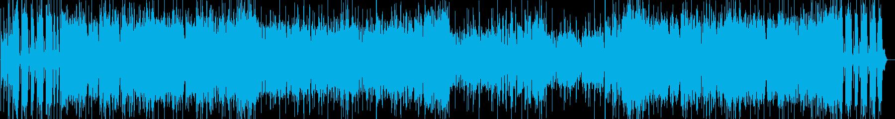 軽快でタイトなFunkロックナンバーですの再生済みの波形
