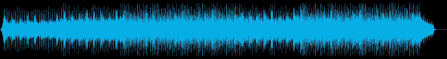 明るく爽やかなコーポレートBGMの再生済みの波形