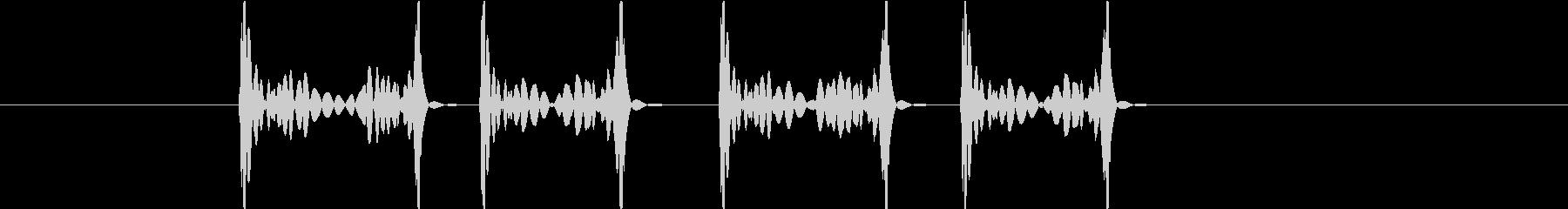 スクラッチ4high(ズクズクズクズク)の未再生の波形