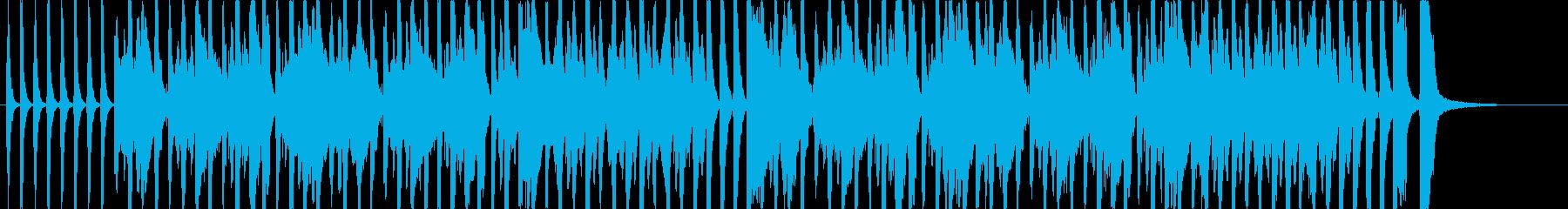 室内音楽風のほのぼのした曲です。の再生済みの波形