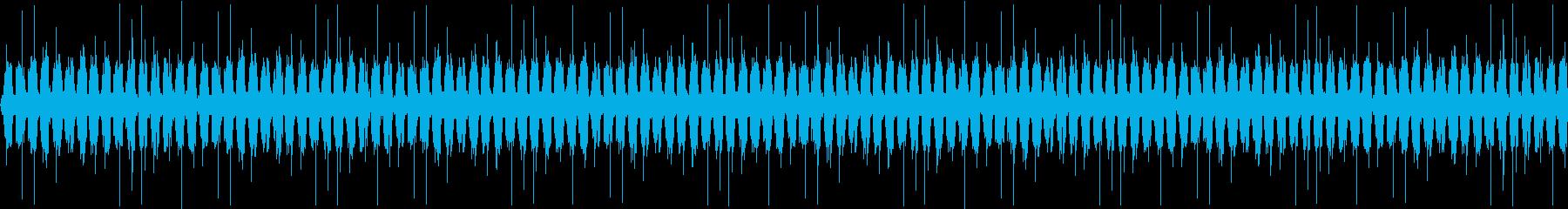 近未来をイメージしたシンセサウンドの再生済みの波形