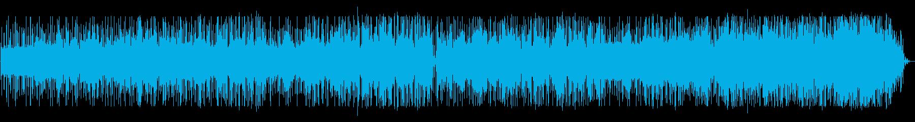 オールナイトニッポン風_軽快なサンバの再生済みの波形