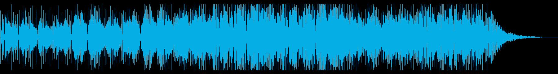 アコギが旋律のゆったりしたスムースジャズの再生済みの波形
