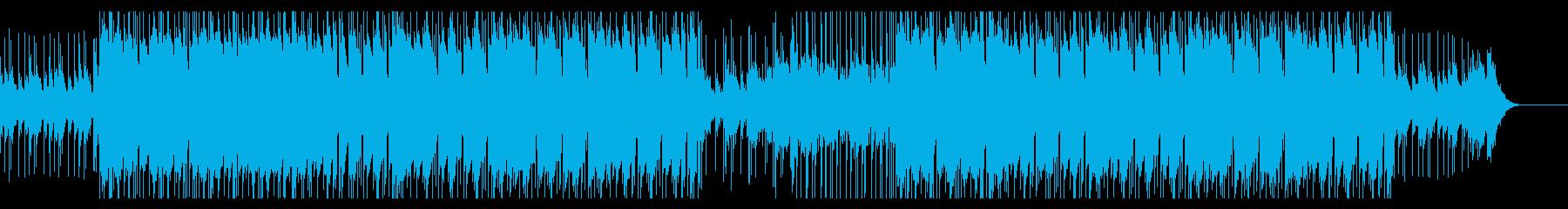 綺麗な音のかわいいヒップホップの再生済みの波形