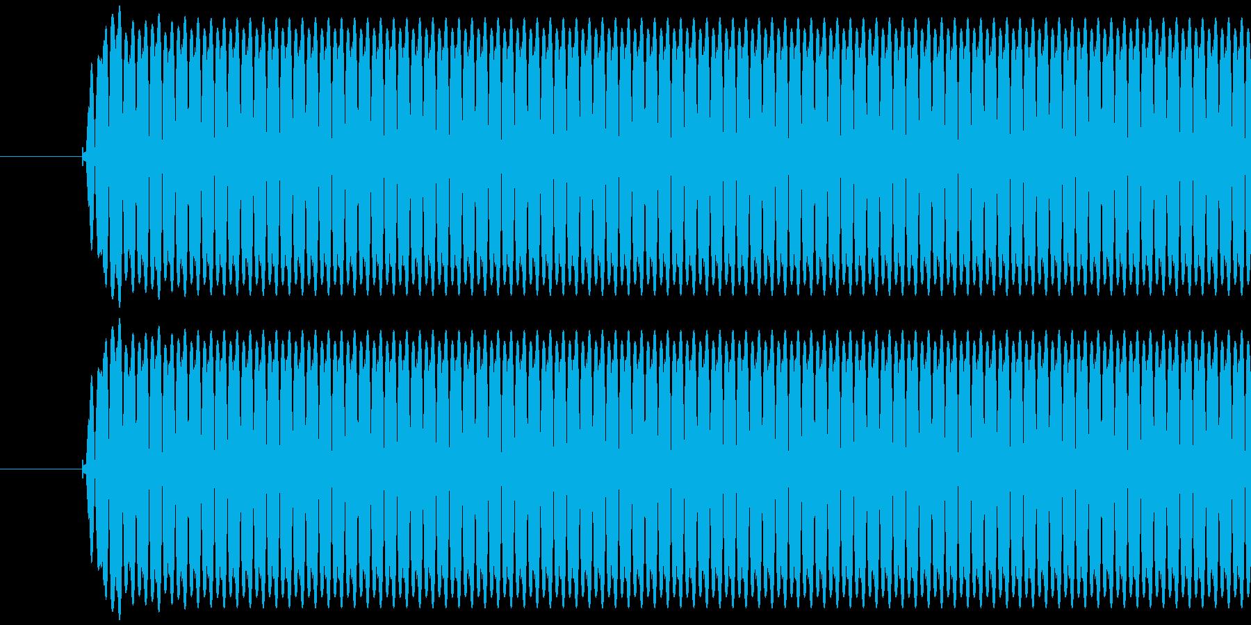レジ(バーコードなどを読み取る)ポッの再生済みの波形