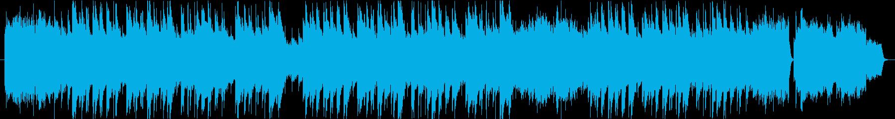 仰げば尊しのオーケストラ風カバーですの再生済みの波形