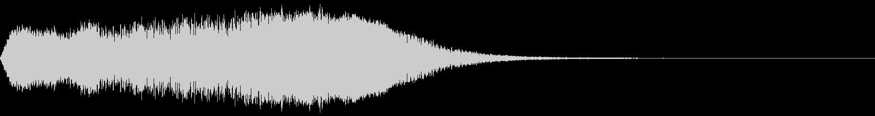 【タイトル】ファズがかかったドローン音の未再生の波形