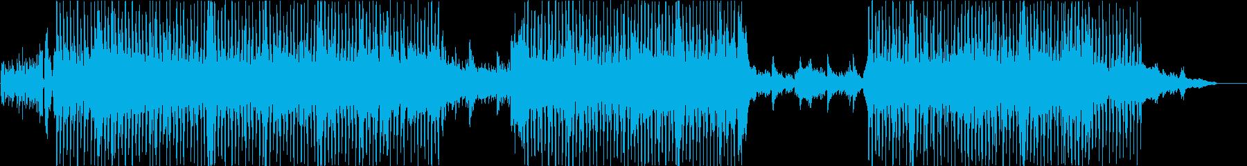 ほのぼの、優しい雰囲気のストリングスの再生済みの波形