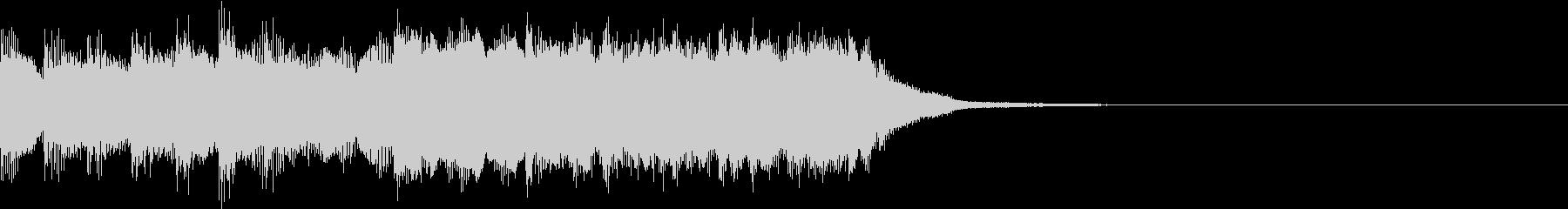 ファミコン風 レトロ ファンファーレ Bの未再生の波形