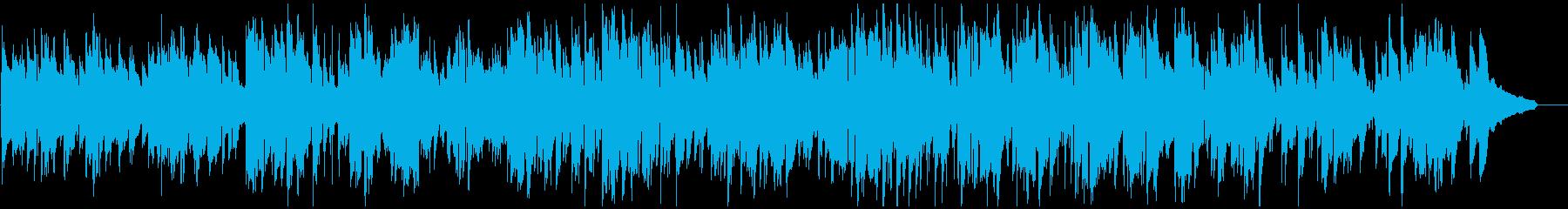 ミディアムスイングゆったりジャズサックスの再生済みの波形