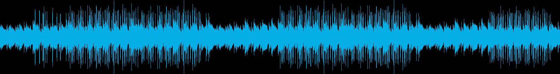 夜・ピアノ・綺麗・お洒落・感動・メロウの再生済みの波形