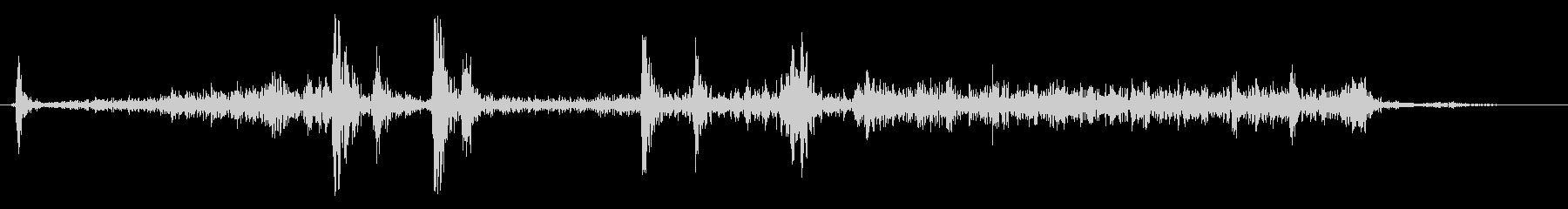 Camera shutter sound 01's unreproduced waveform
