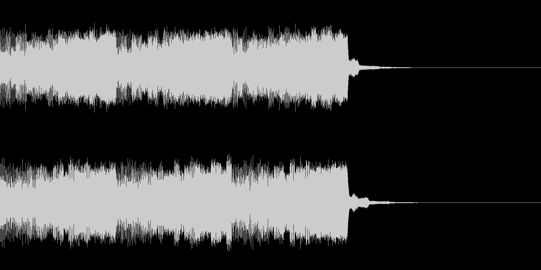 パチンコ的アイテム獲得音01C(電子音)の未再生の波形