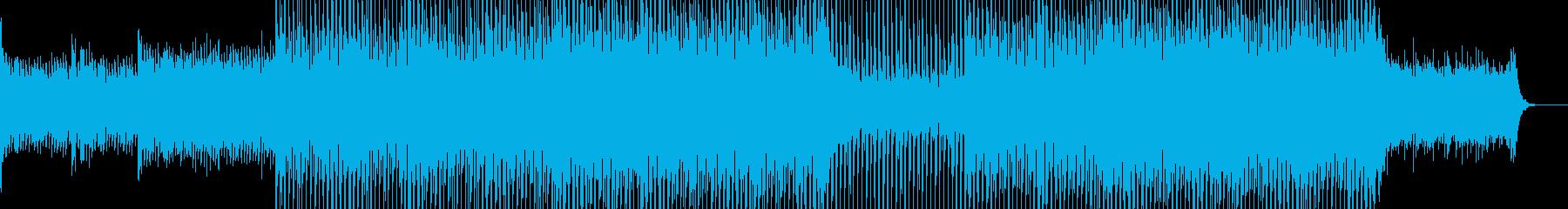 EDMクラブ系ダンスミュージック-33の再生済みの波形