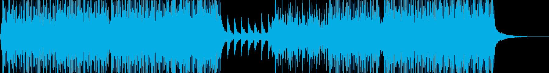 V-LOGなどおしゃれな映像に合う曲の再生済みの波形