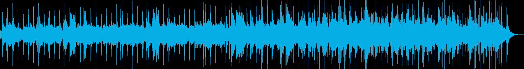 Amazing Grace バグパイプの再生済みの波形