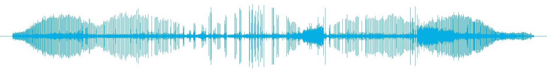 ロボットの声、電気のおしゃべり、ビ...の再生済みの波形