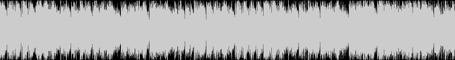 アップテンポなエレクトロポップ(ループ)の未再生の波形