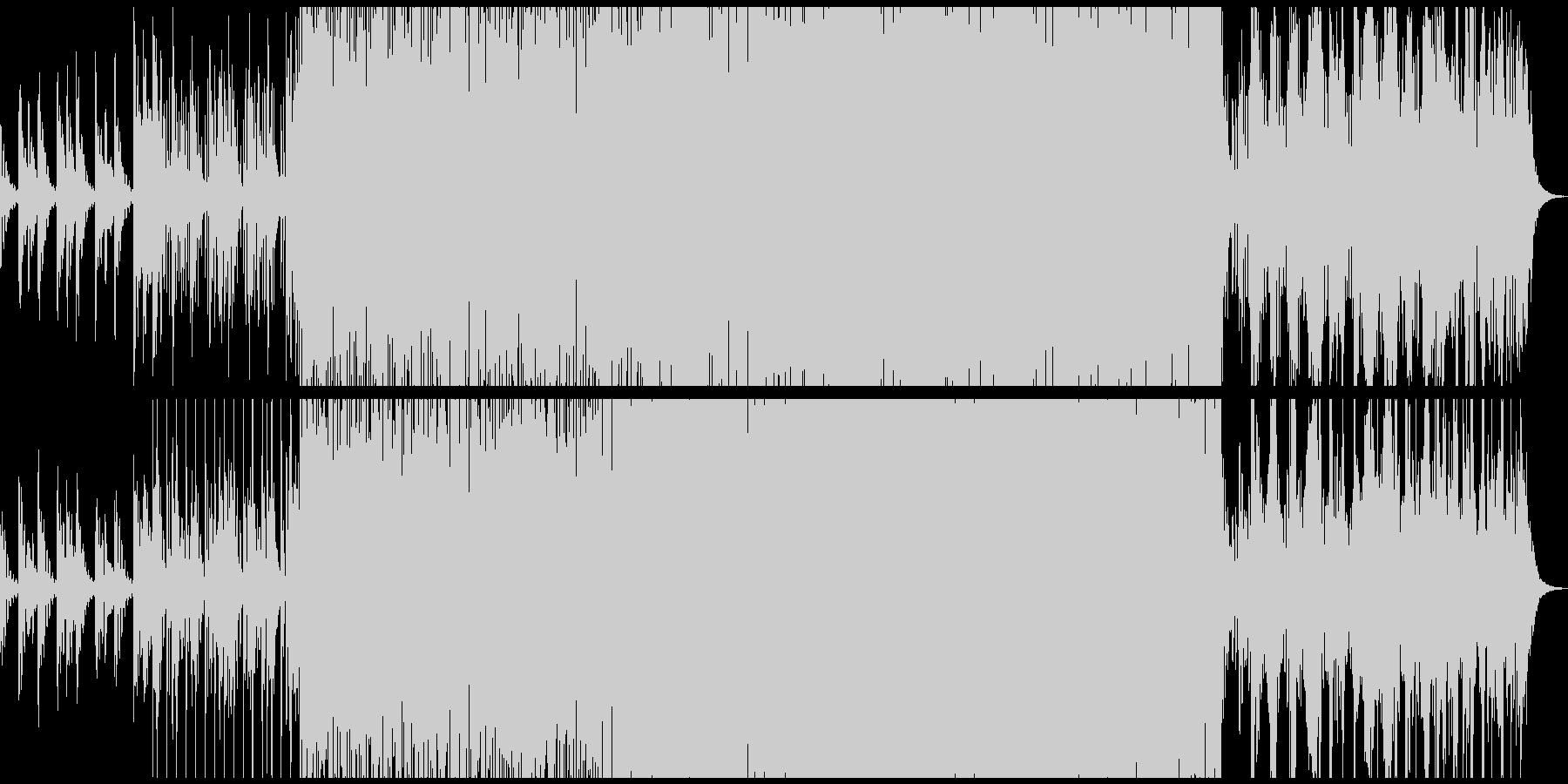 伸びやかでほんのり切ないシンセ・ソロの未再生の波形