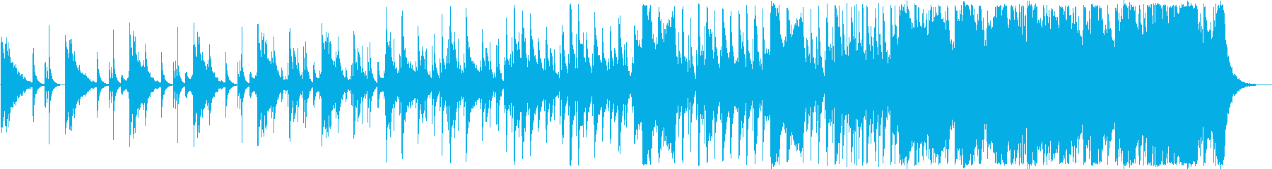 BGM_頂きを目指しての再生済みの波形