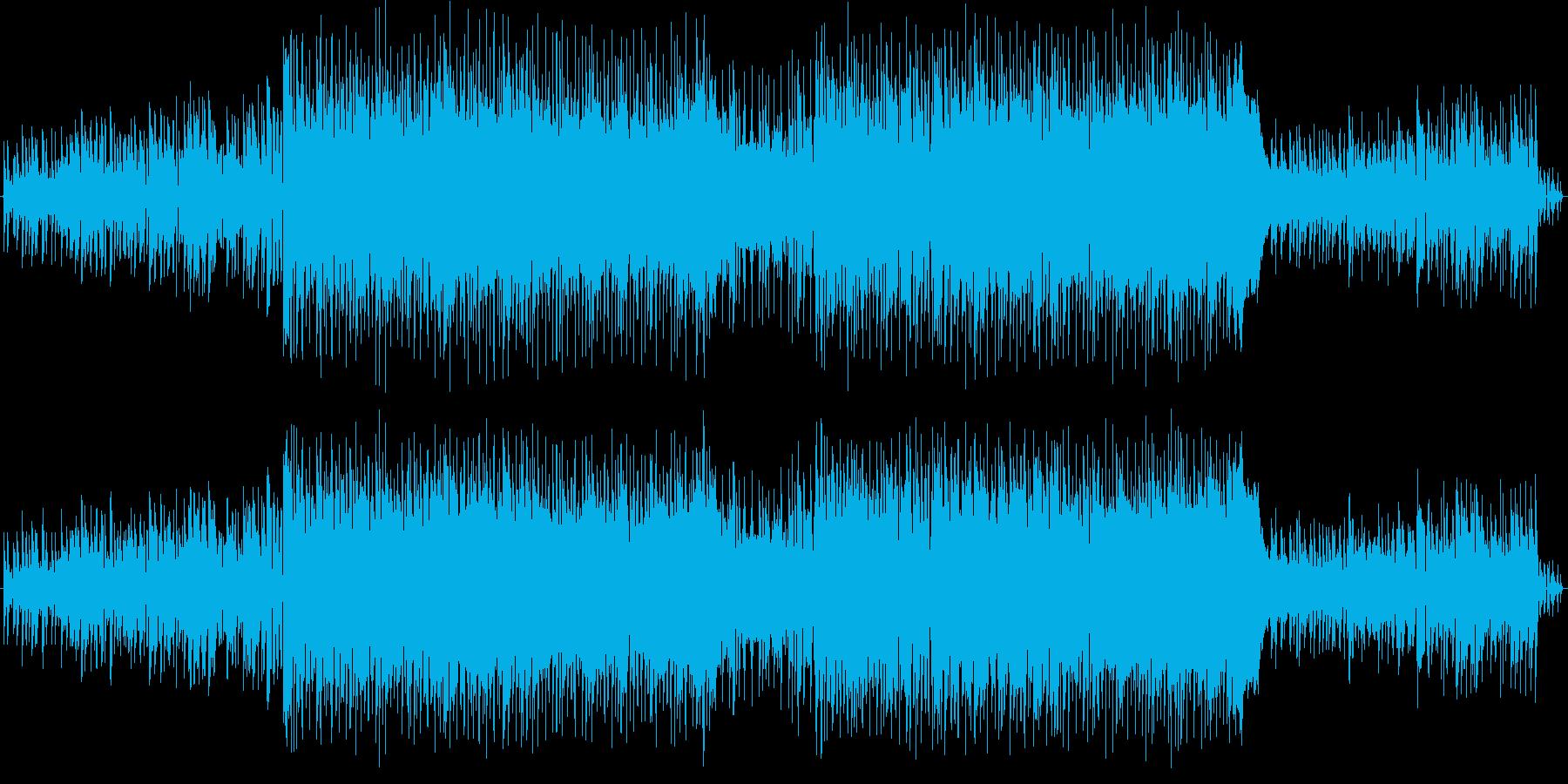 男声ボーカル 英詞 ロックの再生済みの波形