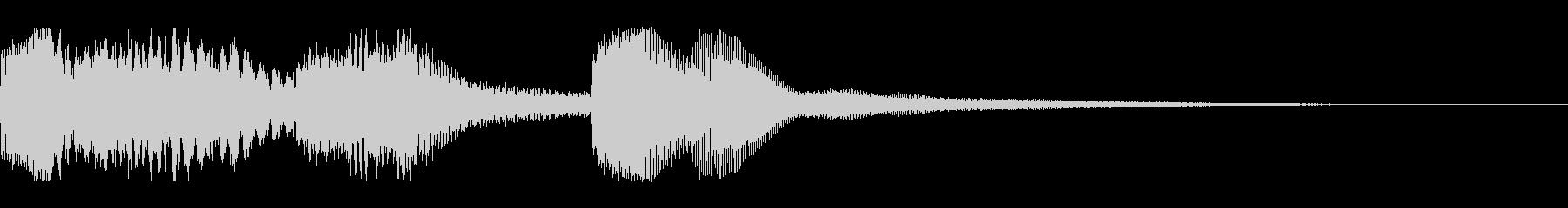 特殊シンボル払い出し音の未再生の波形