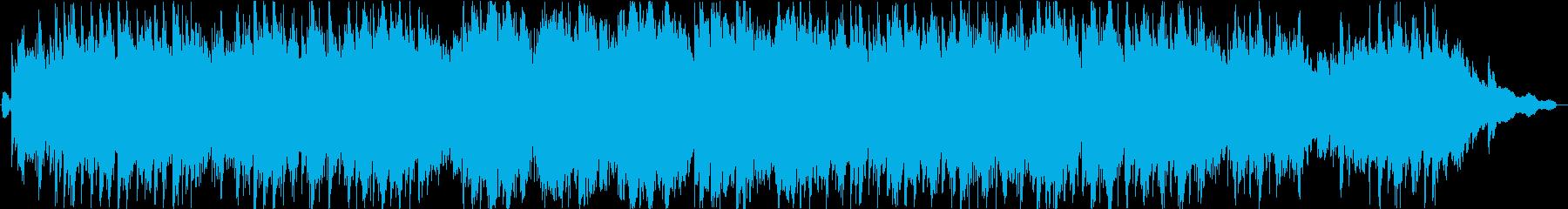 ピアノ。名手。高速アルペジオ。の再生済みの波形