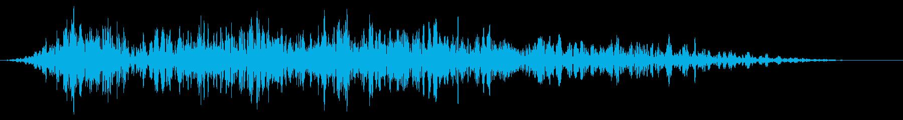 ワーブルホイップトランスフォーメーションの再生済みの波形