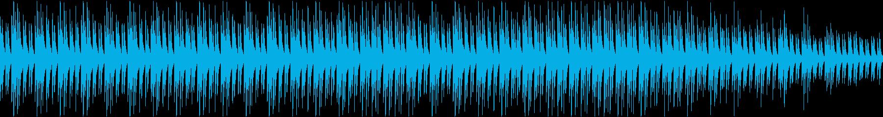 サティ風 ピアノのループ曲 ヒーリングの再生済みの波形