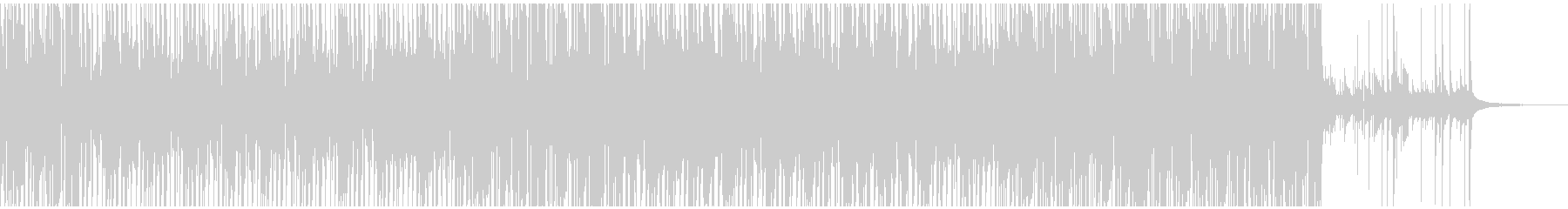 チョッパー主導の激重タイトグルーブの未再生の波形