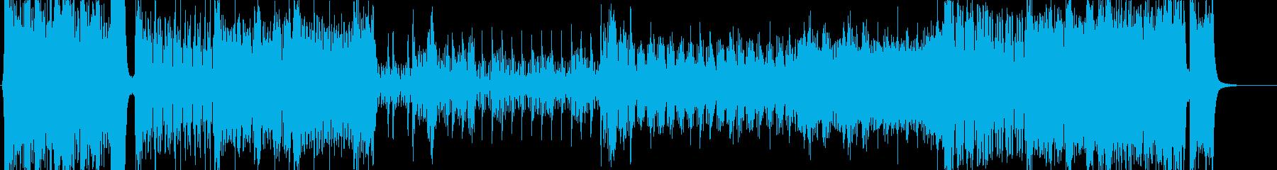 壮大な冒険の序曲=♬幕開け-オーケストラの再生済みの波形