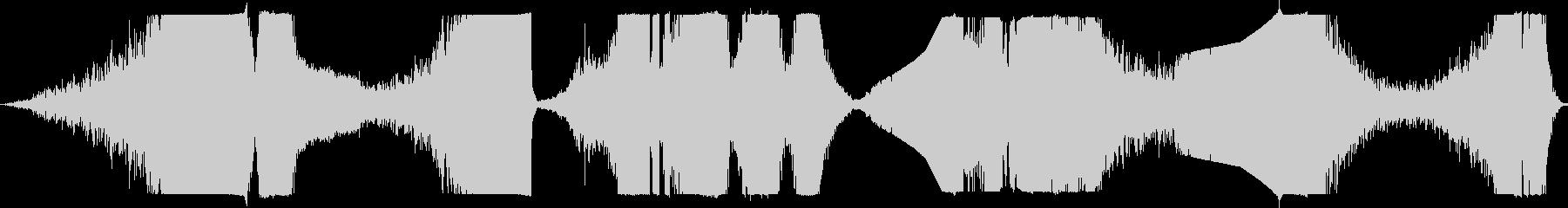 リバースランブル、ヘビーヒット、エ...の未再生の波形
