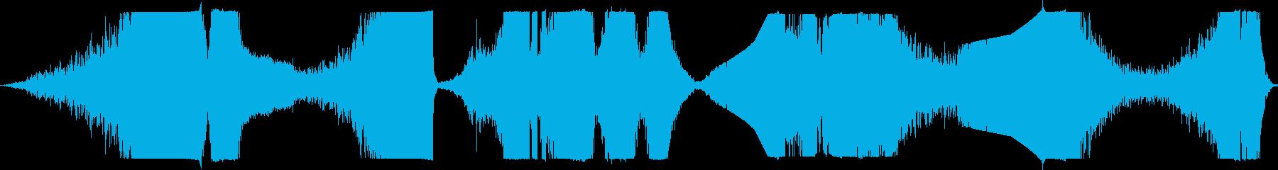 リバースランブル、ヘビーヒット、エ...の再生済みの波形