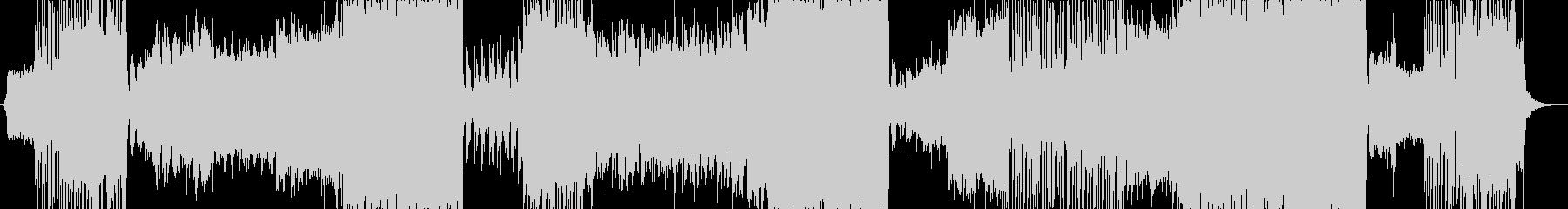 サビがアニメのピンチからの逆転シーン風曲の未再生の波形