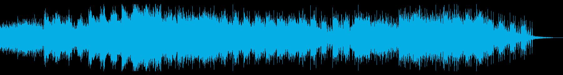 唸り声交じるホラーなアンビエントの再生済みの波形